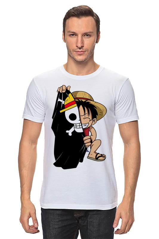 Футболка классическая Printio Манки д. луффи (соломенная шляпа) plus size hawaiian printed one piece bathing suit
