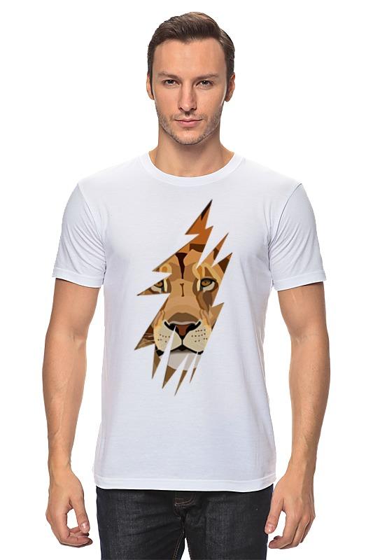Футболка классическая Printio Лев (lion)