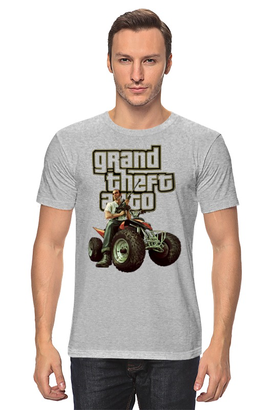 Футболка классическая Printio Gta. футболка классическая printio gta 5 dog