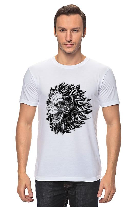Футболка классическая Printio Лев царь футболка классическая printio лев царь зверей