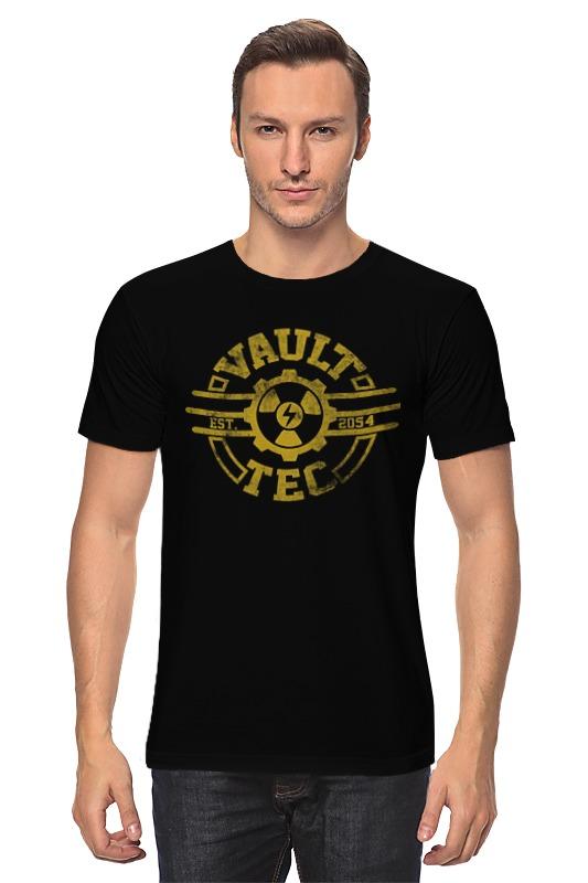 Футболка классическая Printio Fallout. vault-tec футболка классическая printio fallout фэллаут