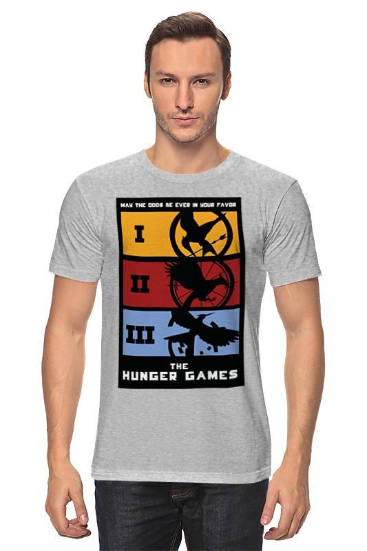 Футболка классическая Printio Голодные игры (the hunger games) go games the sudoku challenge