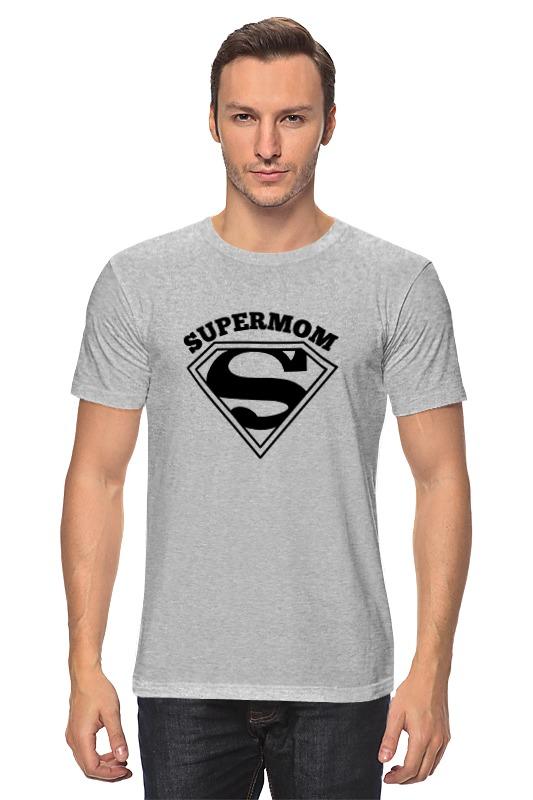 купить Футболка классическая Printio Супермама (supermom) недорого