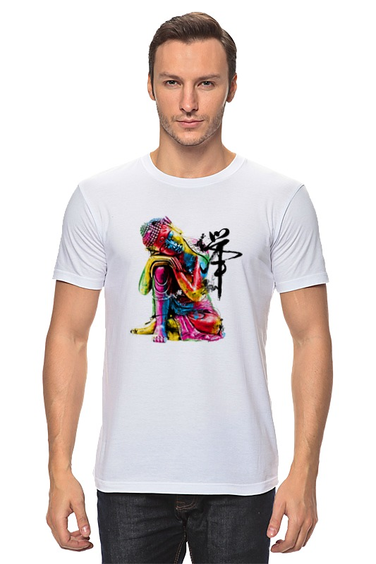 Футболка классическая Printio Будда футболка классическая printio шахматиста