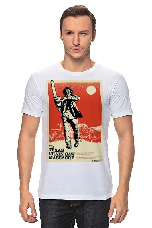 Футболка классическая Printio Техасская резня бензопилой футболка рингер printio техасская резня бензопилой