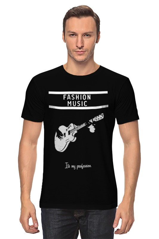 Футболка классическая Printio Fashion music майка классическая printio ultra music