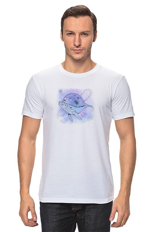 Футболка классическая Printio Космический кит футболка wearcraft premium printio космический кит