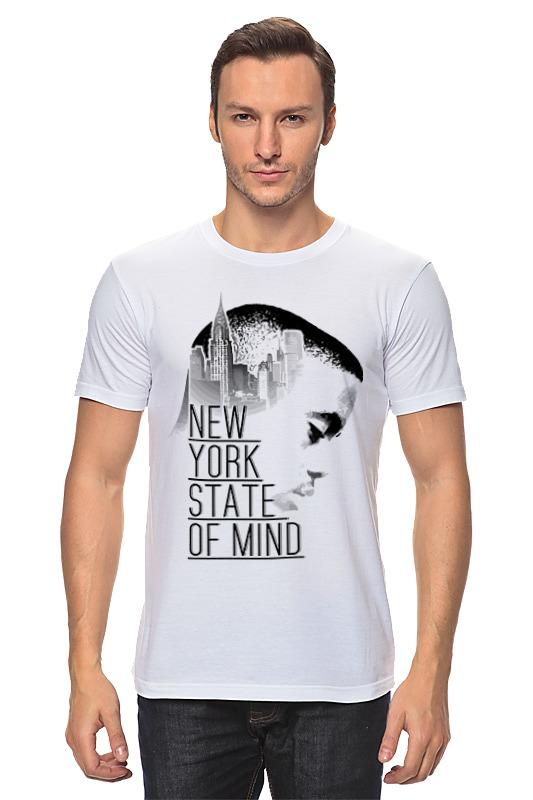 Футболка классическая Printio Насир джонс (nas) футболка wearcraft premium slim fit printio насир джонс nas
