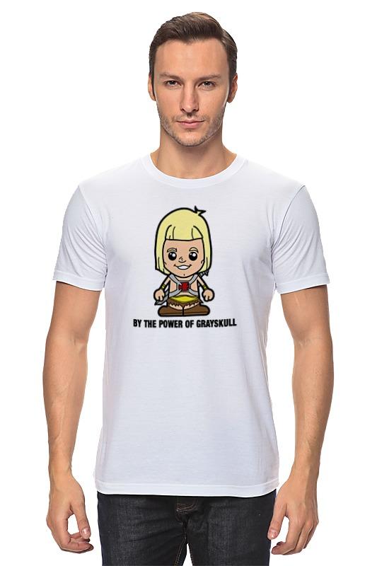 Футболка классическая Printio Хи-мен футболка wearcraft premium slim fit printio батрос хи мен