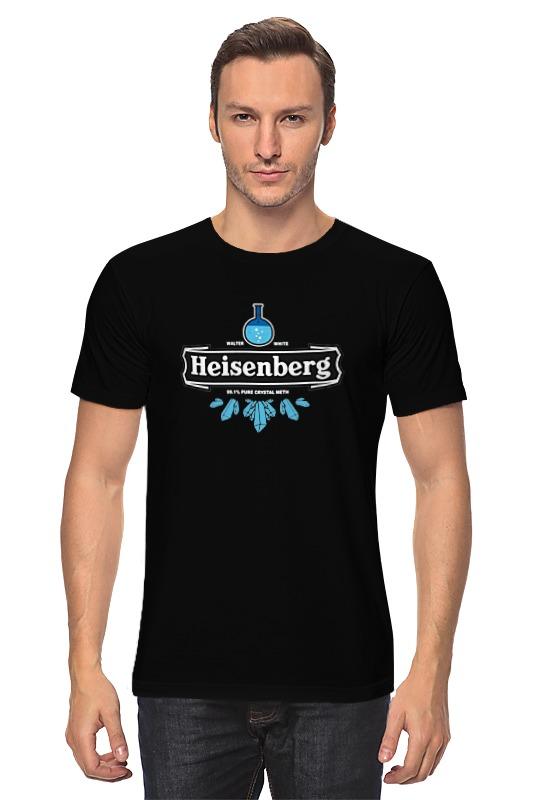 Футболка классическая Printio Heisenberg pure crystal meth