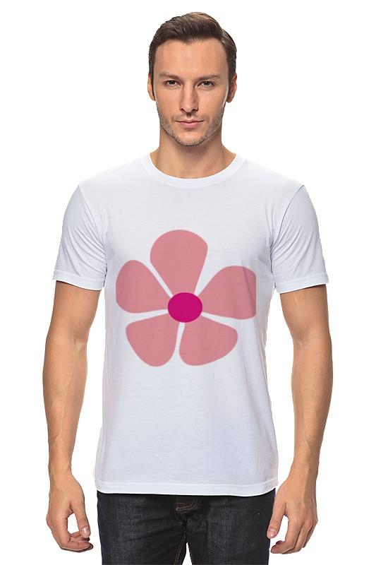 Футболка классическая Printio Розов��й цветок розов г какую камеру купить