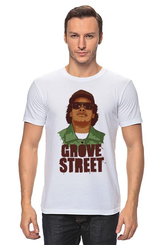 Футболка классическая Printio Grove street 4 life футболка классическая printio street life