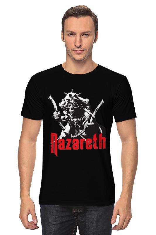 Футболка классическая Printio Nazareth