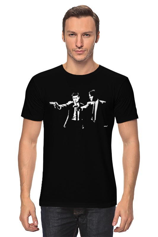 Футболка классическая Printio Supernatural (pulp fiction) худи print bar pulp fiction
