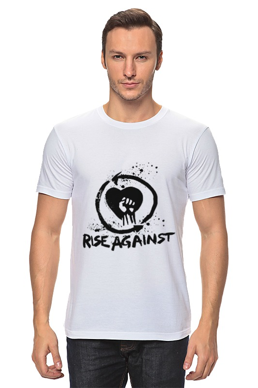 Футболка классическая Printio Rise against