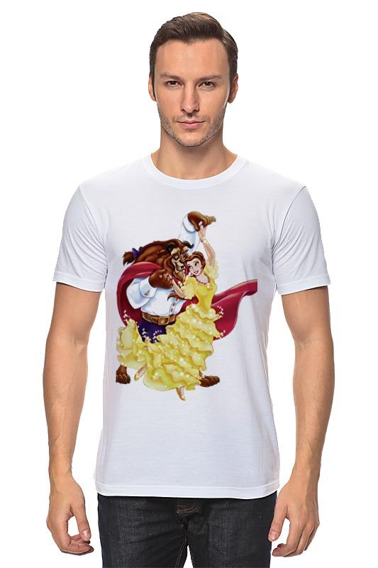 Футболка классическая Printio Красавица и чудовище красавица и чудовище