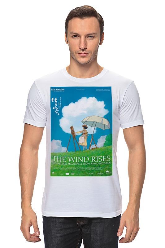 Футболка классическая Printio Ветер крепчает / the wind rises / хаяо миядзаки падение сквозь ветер