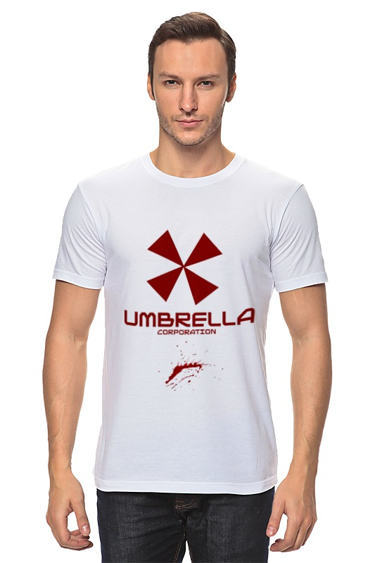 Футболка классическая Printio Resident evil: umbrella corporation сумка printio resident evil umbrella corporation