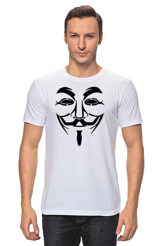 Футболка классическая Printio Anonymous anonymous celebrity