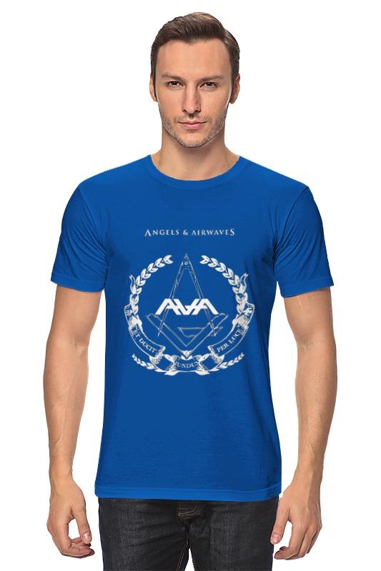Футболка классическая Printio Angels and airwaves freemason футболка с полной запечаткой для девочек printio astronaut angels and airwaves