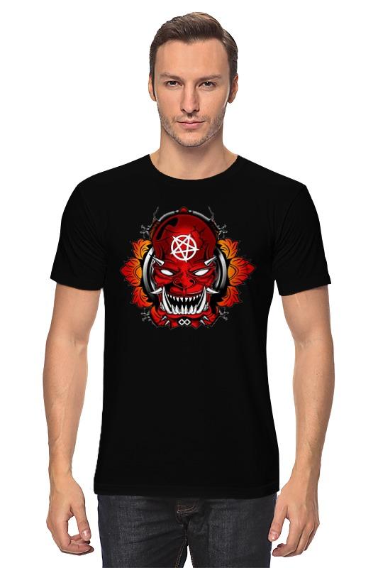 Футболка классическая Printio Devil punk style devil skull pendant necklace