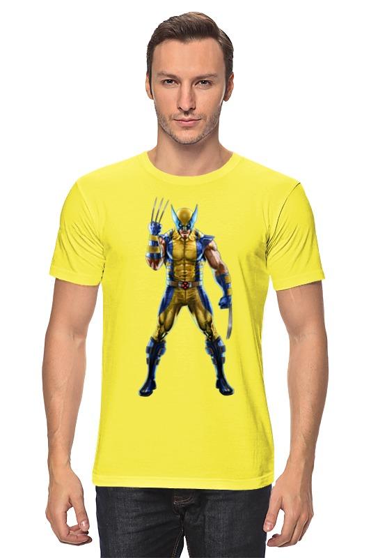 Футболка классическая Printio Wolverine / росомаха