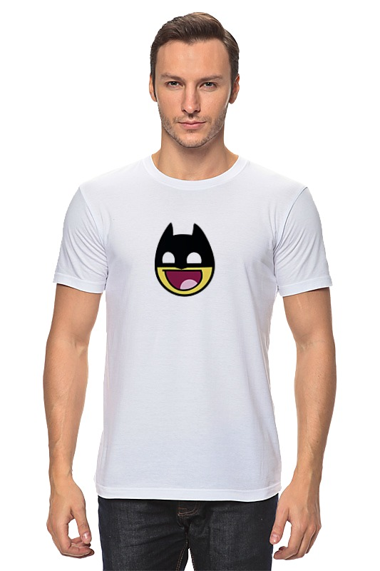 Футболка классическая Printio Batman awesome (бэтмен) футболка классическая printio awesome smile