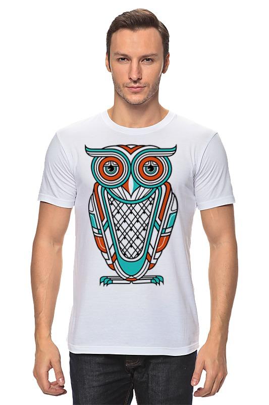 Футболка классическая Printio Сова (owl) футболка print bar owl art