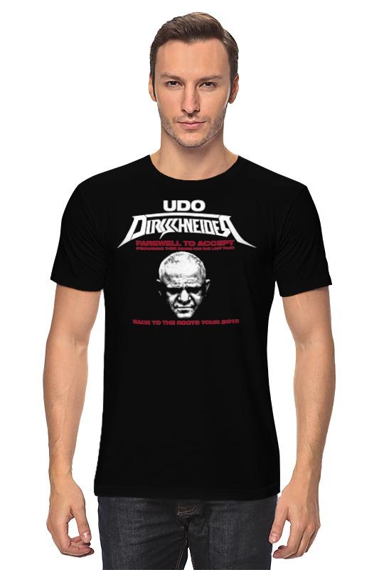 Футболка классическая Printio Udo dirkschneider футболка udo dirkschneider