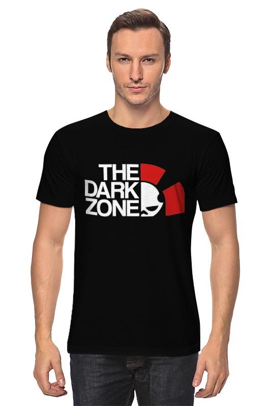 Футболка классическая Printio Тёмная зона (the division) зона сна