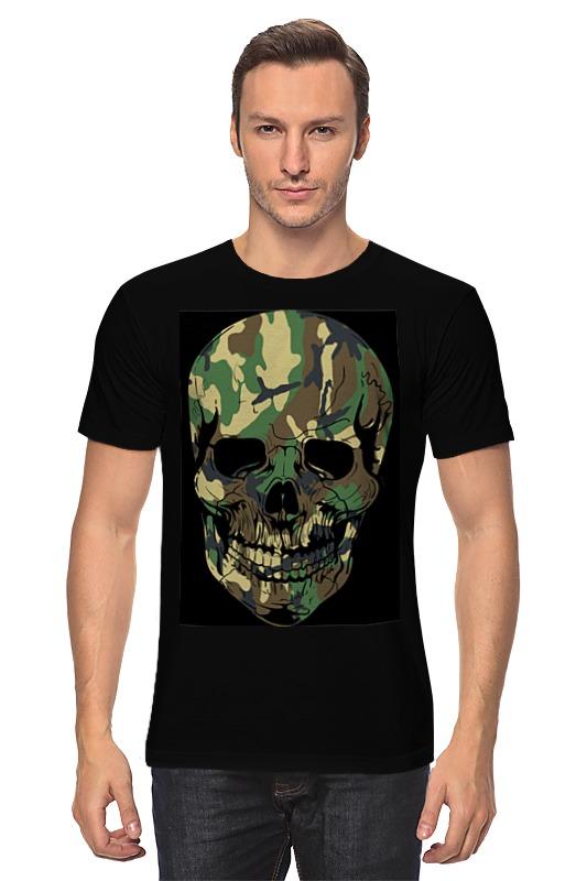 Футболка классическая Printio Skull - 11 fashionable punk style skull pendant necklace