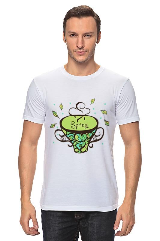 Футболка классическая Printio Зеленый чай