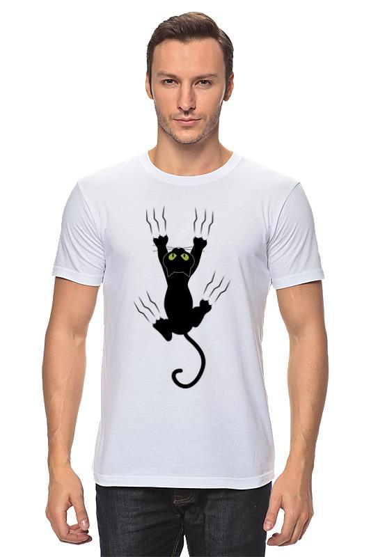 Футболка классическая Printio Прикольный кот футболка стрэйч printio черно белый кот