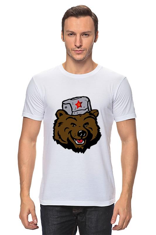 Футболка классическая Printio Russian bear (русский медведь)