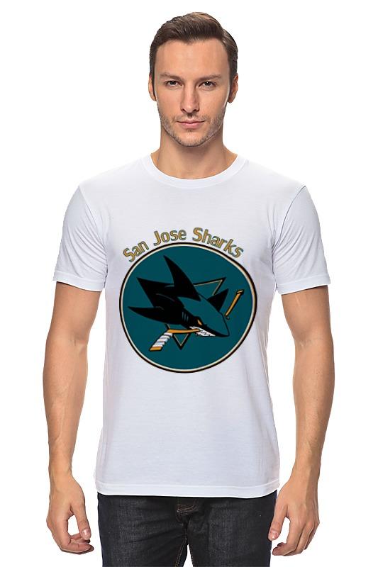 Футболка классическая Printio San jose sharks майка классическая printio san jose sharks сан хосе шаркс