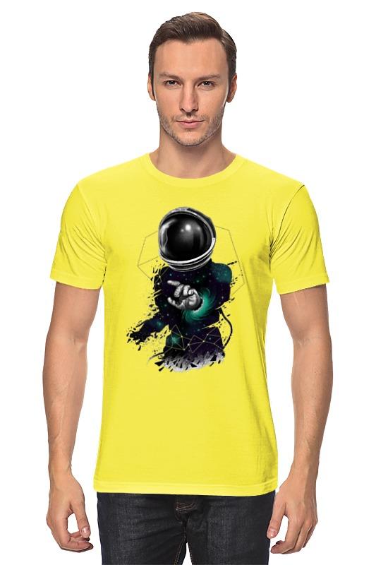 Футболка классическая Printio Космонавт aideli жёлтый цвет 45 ярдов