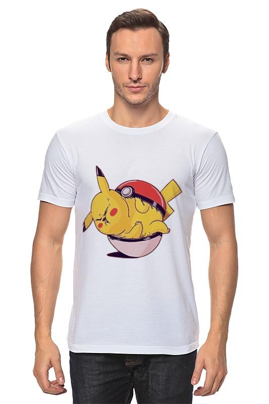 Футболка классическая Printio Fat pikachu сумка printio fat pikachu