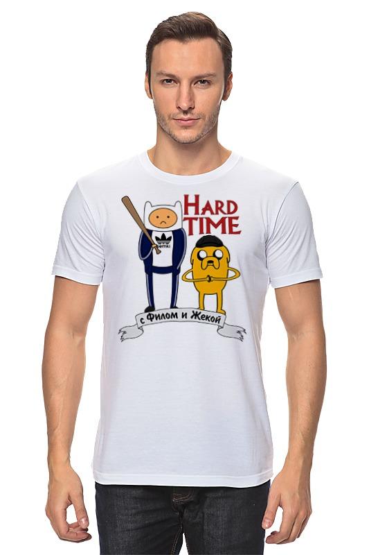 Футболка классическая Printio Hard time футболка классическая printio sheena contra hard corps