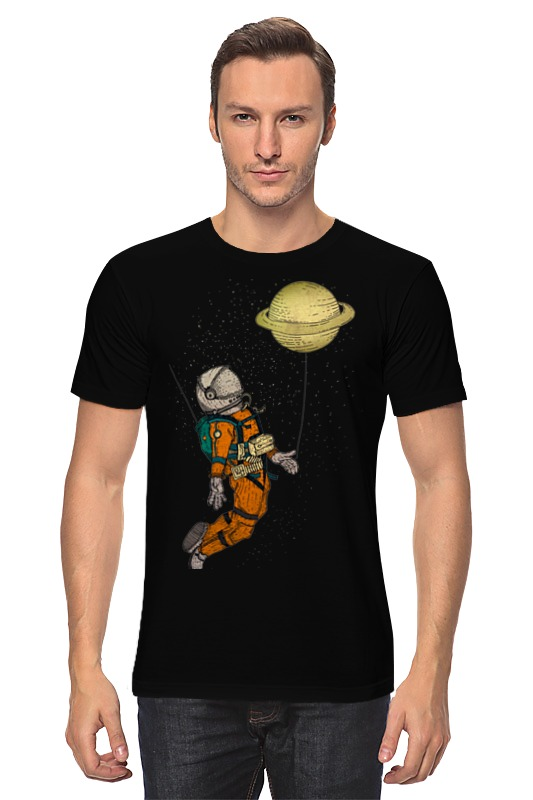 Футболка классическая Printio Сатурн