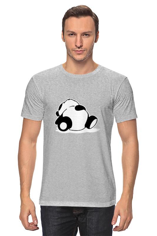 Футболка классическая Printio Спящая панда футболка классическая printio спящая красавица
