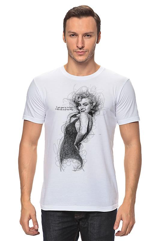 Футболка классическая Printio Marilyn monroe футболка классическая printio marilyn monroe