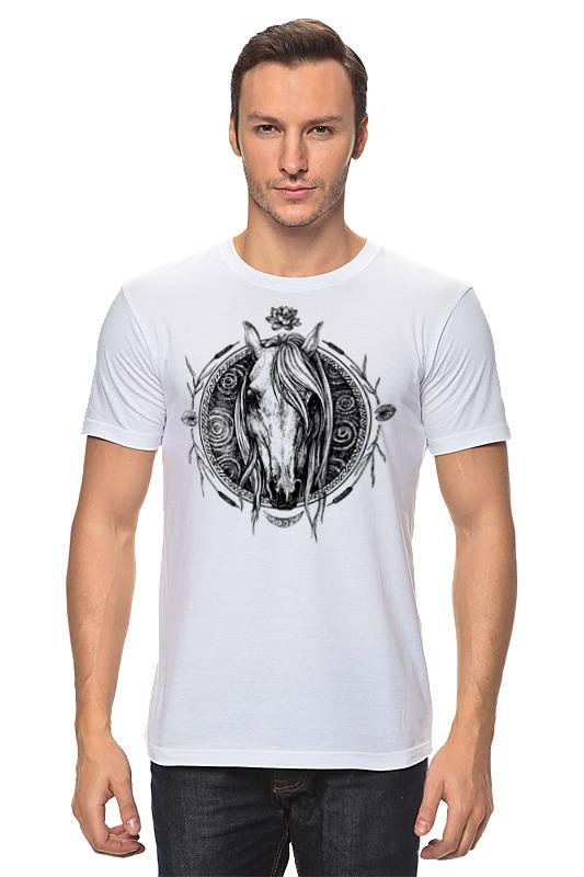 Футболка классическая Printio Речная лошадь футболка стрэйч printio речная лошадь
