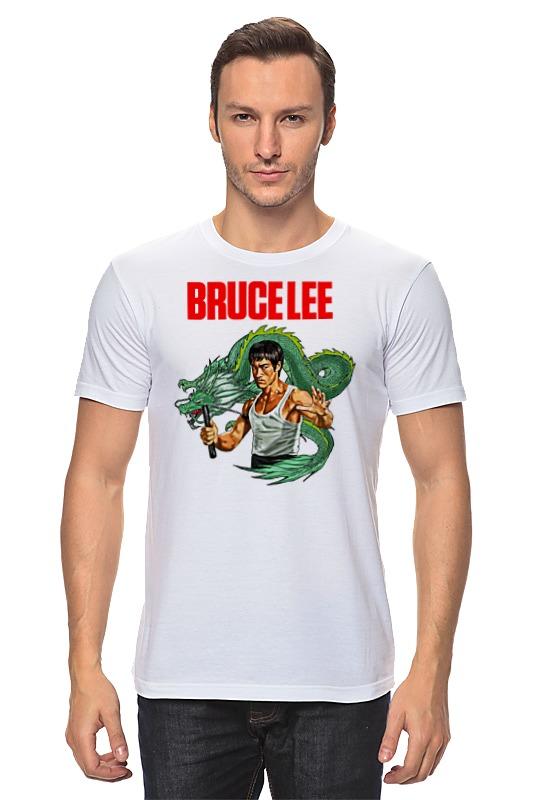 Футболка классическая Printio Bruce lee футболка стрэйч printio bruce lee