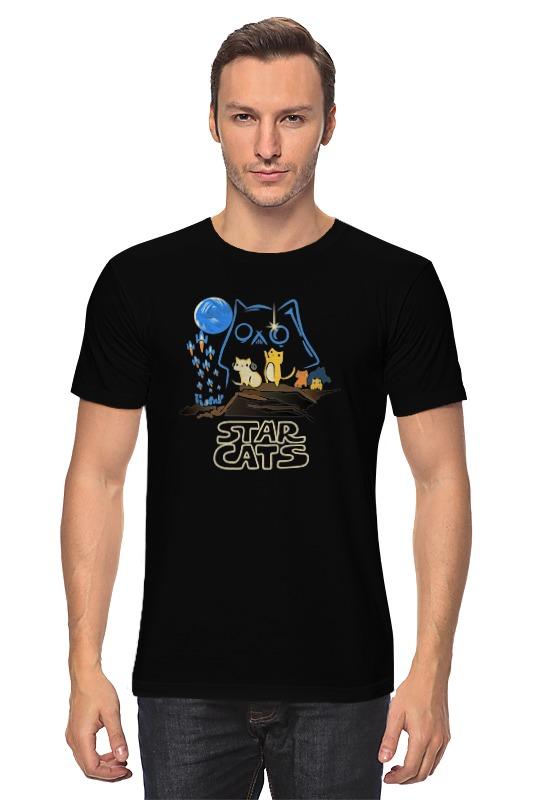 Футболка классическая Printio Star cats