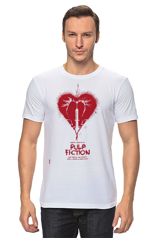 Футболка классическая Printio Pulp fiction - heart