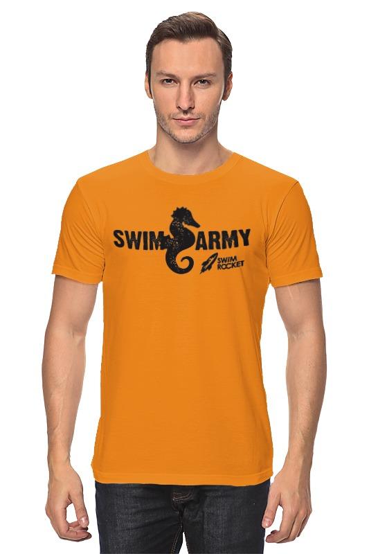 Футболка классическая Printio Swim army цена
