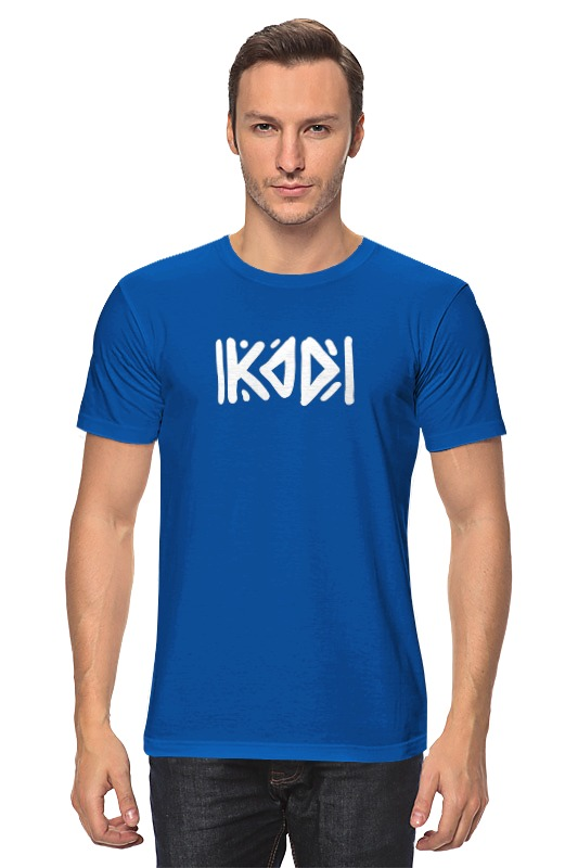Футболка классическая Printio С логотипом kod футболка print bar футболка с логотипом карателя