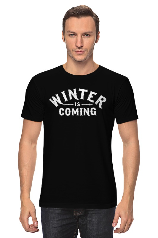 Футболка классическая Printio Игра престолов. winter is coming футболка рингер printio winter is coming
