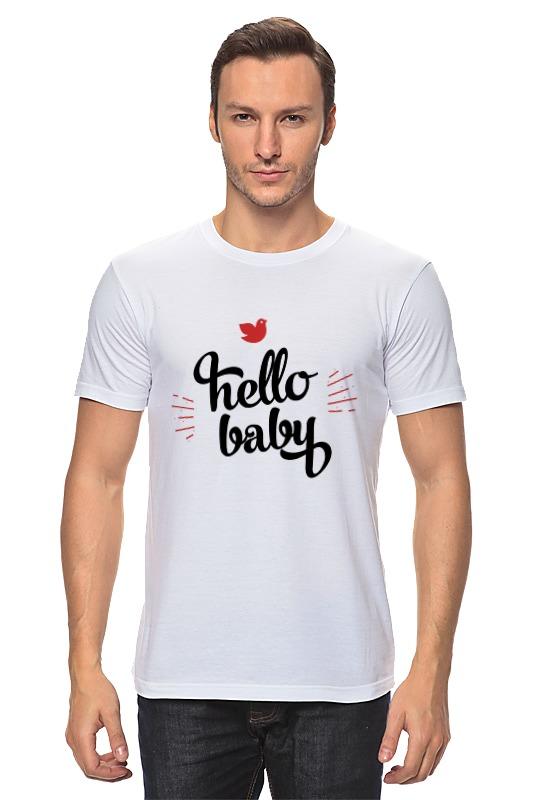 Футболка классическая Printio Hello baby футболка baby dior футболка