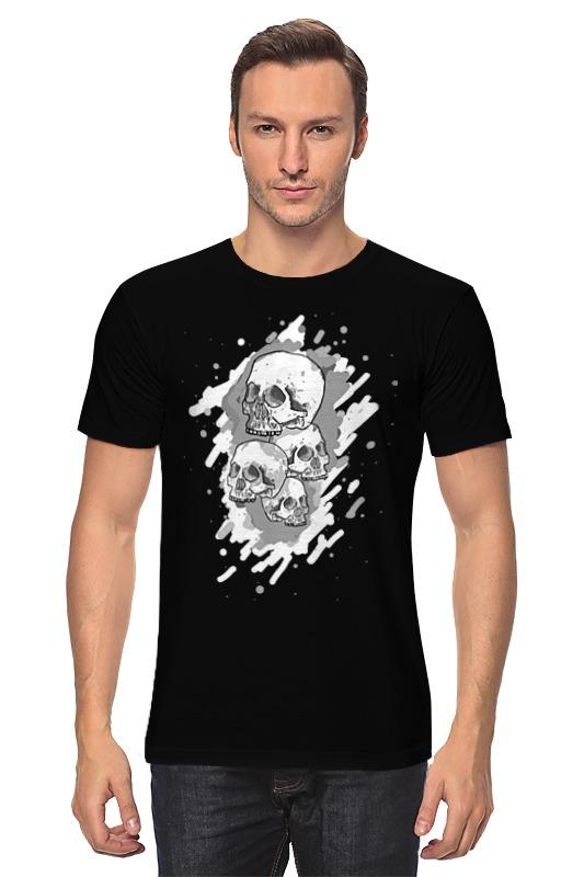 Футболка классическая Printio Черепа футболка классическая printio девушка и черепа с розами